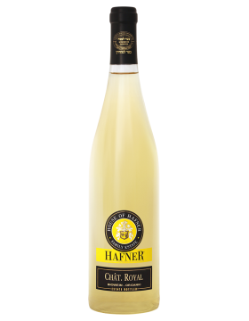 CHateau Royal Riesling, biele, polosuché, bez histamínu, BIO, r2017, kosher, 0.75l