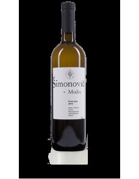 Pinot Gris,biele,polosuché,neskorý zber,r2017,0.75l