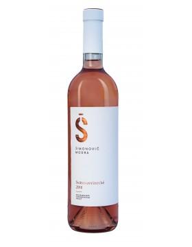 Svatovavrinecké rosé,ružové,suché,akostné,2018,0.75l